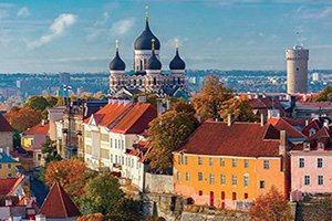 (vignette) Vignette Estonie Tallinn vue aerienne  it