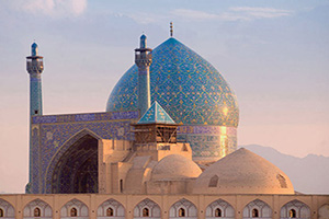 (vignette) Vignette Iran Isfahan Mosquee Shah  it
