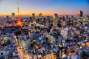 (vignette) Vignette Japon Tokyo panorama  fo
