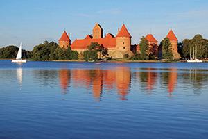 (vignette) Vignette Lituanie Vilnius Chateau Trakai  fo