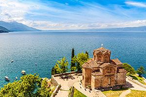 (vignette) Vignette Macedoine Lac Ohrid Eglise Jovan Kaneo  it