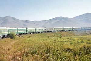 (vignette) Vignette Mongolie Trainsiberian train Ulaanbaatar Beijing  it