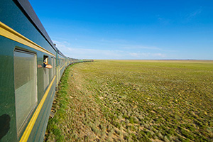 (vignette) Vignette Mongolie Trans mongol train  it