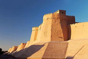 (vignette) Vignette Ouzbekistan Khiva Itchan Kala Mur  it