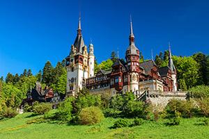 (vignette) Vignette Roumanie Sinaia Peles Chateau  it