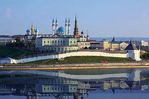 (vignette) Vignette Russie Kazan kremlin  fo