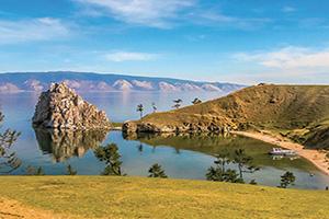 (vignette) Vignette Russie Lac Baikal ile Olkhon sur le lac Baikal  fo