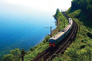 (vignette) Vignette Russie Lac Baikal train  it