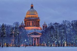 (vignette) Vignette Russie Saint Petersbourg StIsaac Cathedrale  fo