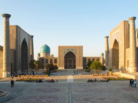 mini ouzbekistan samarcande palce reghistan  istock