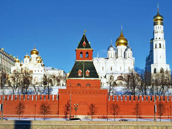 russie moscou kremlin hiver  fotolia